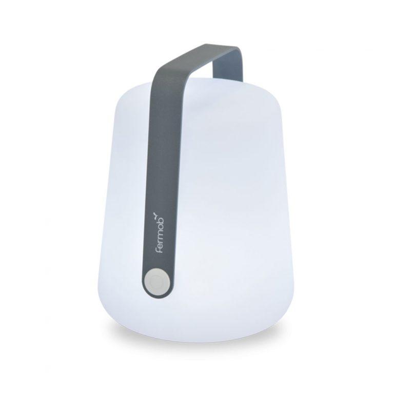 Lampe-a-poser-Fermob-BALAD-Lampe-nomade-LED-exterieur-Gris-Orage-H28cm