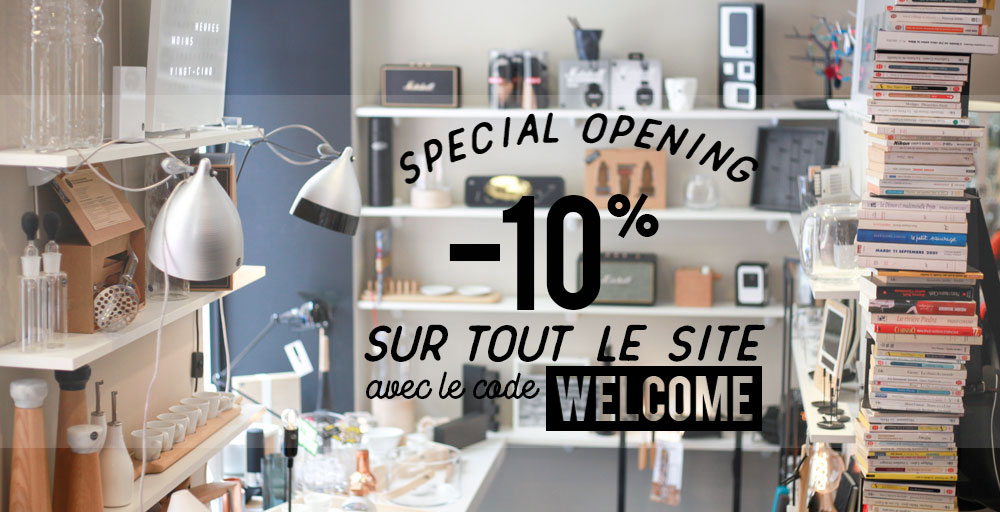 Ouverture du E-Shop Bob Corner design decoration