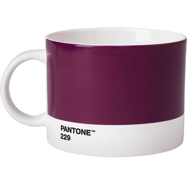 Tea Cup Pantone aubergine 229
