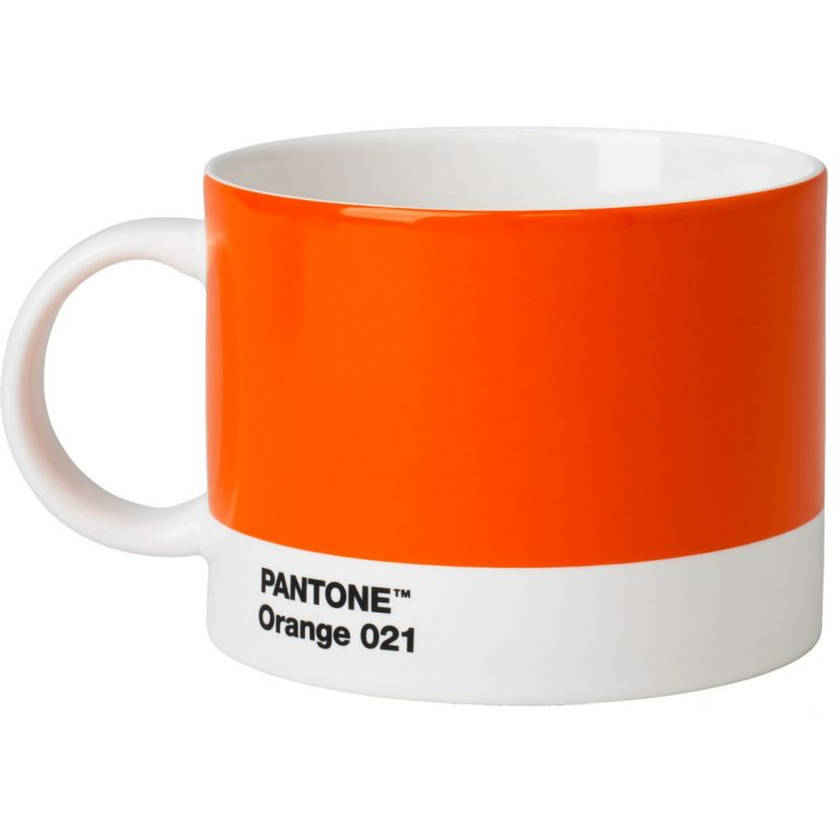 Tea Cup Pantone orange 021