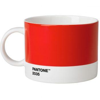Tea Cup Pantone rouge 2035