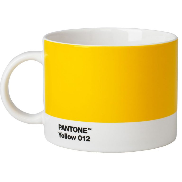 Tea Cup Pantone yellow 012